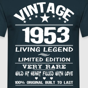 VINTAGE 1953-LIVING LEGEND T-Shirts - Men's T-Shirt