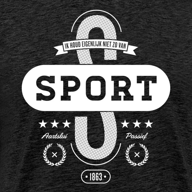 Sport mannen premium
