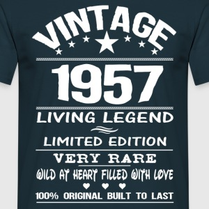 VINTAGE 1957-LIVING LEGEND T-Shirts - Men's T-Shirt