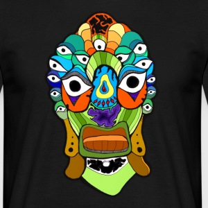 Psychedelic Frogface T-Shirts - Männer T-Shirt