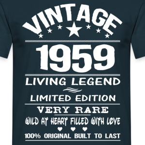 VINTAGE 1959-LIVING LEGEND T-Shirts - Men's T-Shirt