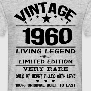 VINTAGE 1960-LIVING LEGEND T-Shirts - Men's T-Shirt
