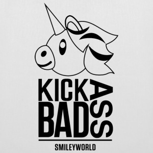 SmileyWorld Kick Bad Ass - Stoffveske