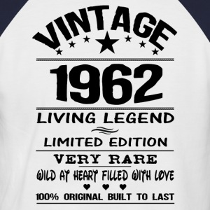 VINTAGE 1962-LIVING LEGEND T-Shirts - Men's Baseball T-Shirt