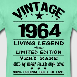 VINTAGE 1964-LIVING LEGEND T-Shirts - Men's T-Shirt