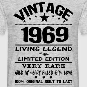 VINTAGE 1969-LIVING LEGEND T-Shirts - Men's T-Shirt