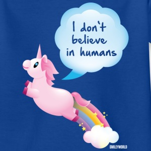 SmileyWorld I don't believe in Humans - Kids' T-Shirt
