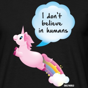 SmileyWorld I don't believe in Humans - Männer T-Shirt
