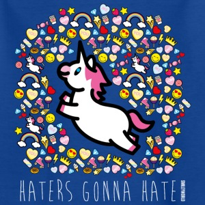 SmileyWorld Haters Gonna Hate - Maglietta per bambini