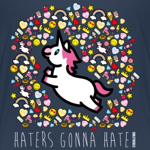SmileyWorld Haters Gonna Hate - Kids' Premium T-Shirt