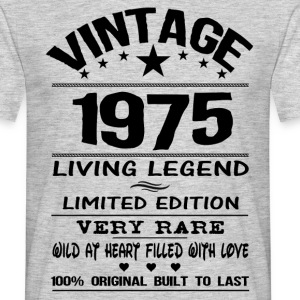VINTAGE 1975-LIVING LEGEND T-Shirts - Men's T-Shirt