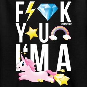 SmileyWorld Licorne F*** You - T-shirt Ado