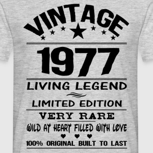 VINTAGE 1977-LIVING LEGEND T-Shirts - Men's T-Shirt