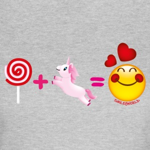 Smiley World Lolli + Einhorn - Frauen T-Shirt