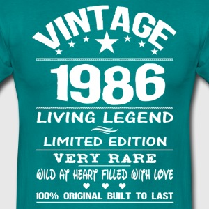 VINTAGE 1986-LIVING LEGEND T-Shirts - Men's T-Shirt