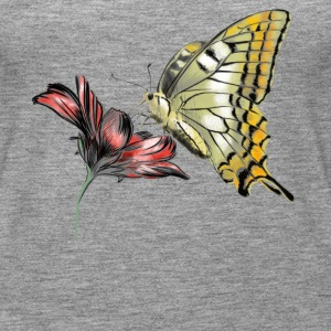 Butterfly Tops - Women's Premium Tank Top