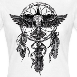 AD Skull Crow Dreamcatcher T-Shirts - Women's T-Shirt