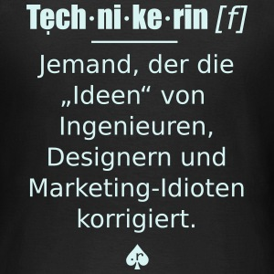 Technikerin - ReflexShirt - Frauen T-Shirt