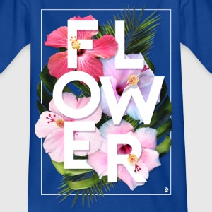 AD Flower T-shirts - Teenager-T-shirt