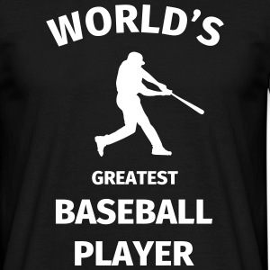 World's Greatest Baseball Player Camisetas - Camiseta hombre