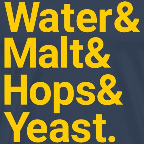 Water,Malt,Hops & Yeast