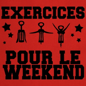exercices pour le weekend Tabliers - Tablier de cuisine