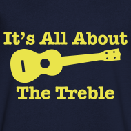 Design ~ All About The Treble V Neck T