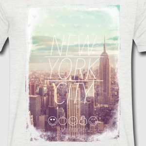 Smileyworld 'New York City' - Maglietta da uomo con scollo a V