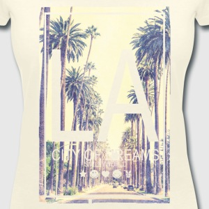 Smileyworld 'LA City of Dreams' - Vrouwen T-shirt met V-hals