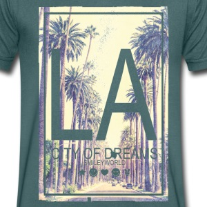 Smileyworld 'LA City of Dreams' - T-shirt Homme col V