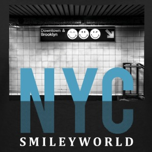 Smileyworld 'NYC 64 Aven Skyline' - Camiseta con escote en pico mujer