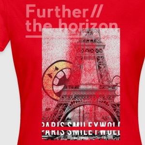 Smileyworld 'Paris Further the horizon' - T-shirt Femme
