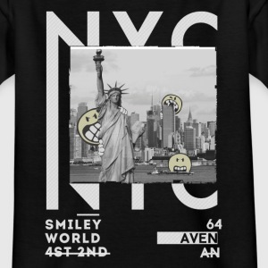 Smileyworld 'NYC 64 Aven Skyline' - T-shirt tonåring
