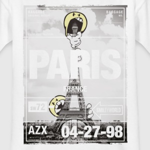 Smileyworld 'Paris Eiffel Tower' - Kinderen T-shirt