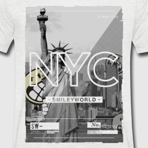 Smileyworld 'NYC 64 Aven Skyline' - Camiseta de pico hombre