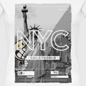 Smileyworld 'NYC 64 Aven Skyline' - Frauen Premium T-Shirt