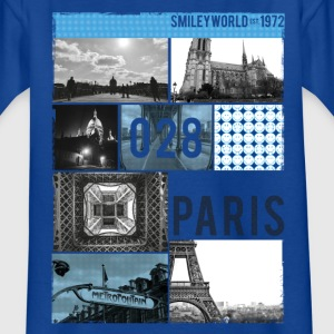 Smileyworld '028 Paris' - Teenager-T-shirt
