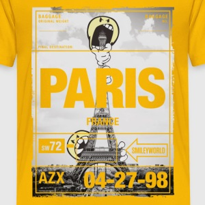 Smileyworld 'Paris Eiffel Tower' - Børne premium T-shirt