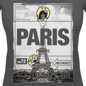 Smileyworld 'Paris La tour Eiffel' - T-shirt col V Femme