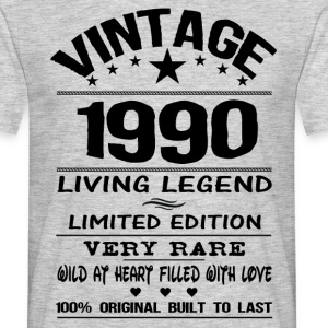 VINTAGE 1990-LIVING LEGEND T-Shirts - Men's T-Shirt