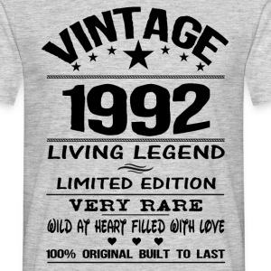 VINTAGE 1992-LIVING LEGEND T-Shirts - Men's T-Shirt