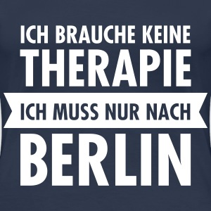 Therapie - Berlin T-Shirts - Frauen Premium T-Shirt