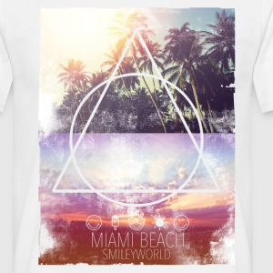 Smileyworld 'Miami Beach' - Männer T-Shirt