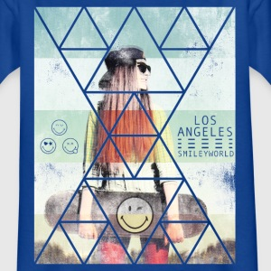Smileyworld 'Los Angeles Skater' - Kids' T-Shirt