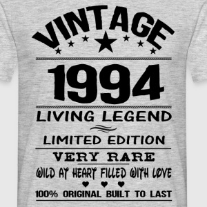 VINTAGE 1994-LIVING LEGEND T-Shirts - Men's T-Shirt