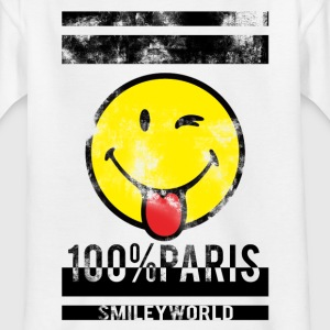 Smileyworld '100% Paris' - T-shirt Ado