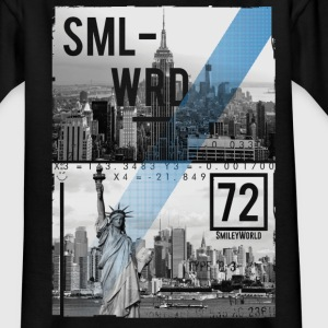 Smileyworld 'New York Statue of Liberty' - Teenager T-shirt
