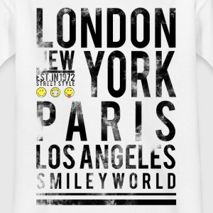 Smileyworld 'Cities' - Teenager T-Shirt