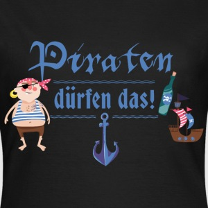 piraten_duerfen_das_07201601 T-Shirts - Frauen T-Shirt