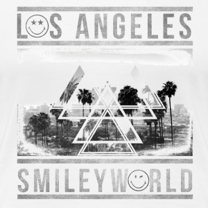 Smileyworld 'Los Angeles Skyline' - Premium-T-shirt dam